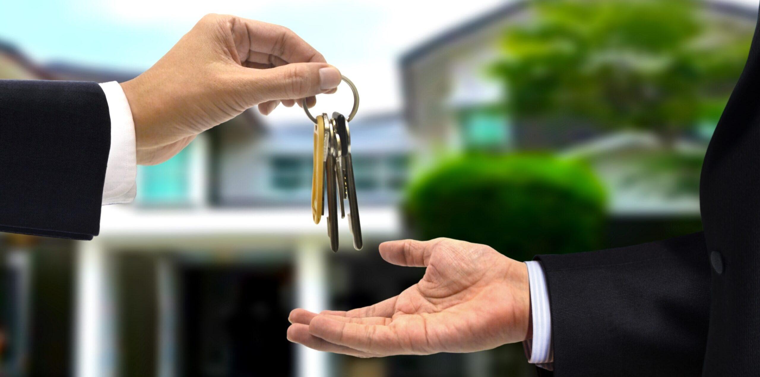 Landtwing Law AG, Schlüsselübergabe bei Hauskauf